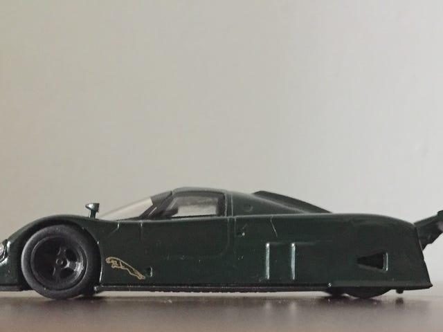 Thursday on the Thames: Kyosho 1/64 Jaguar XJR9
