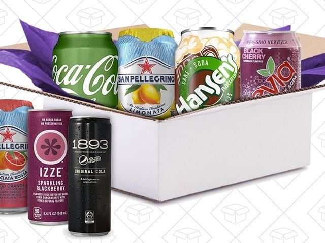 Buy a $5 Soda Sample Box, Get $5 Towards Your Next Fizzy Drink Purchase