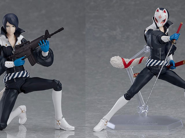 A Very Nice Figure Of Persona 5's Yusuke