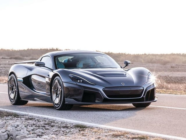 The Rimac C Two Is A Semi-Autonomous Electric Monster With 1,914 HP And Facial Recognition