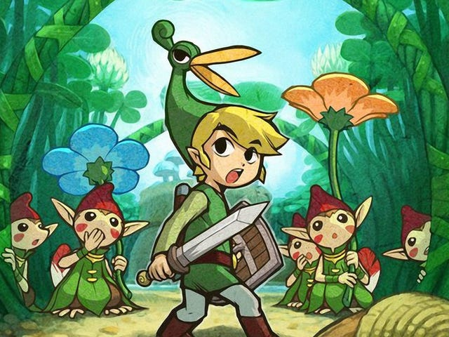 The Brilliant Use of Verticality in Minish Cap's Palace of Winds