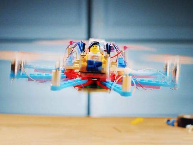 Este kit tiene todo er nødvendigt for at konstruere og udvikle Lego