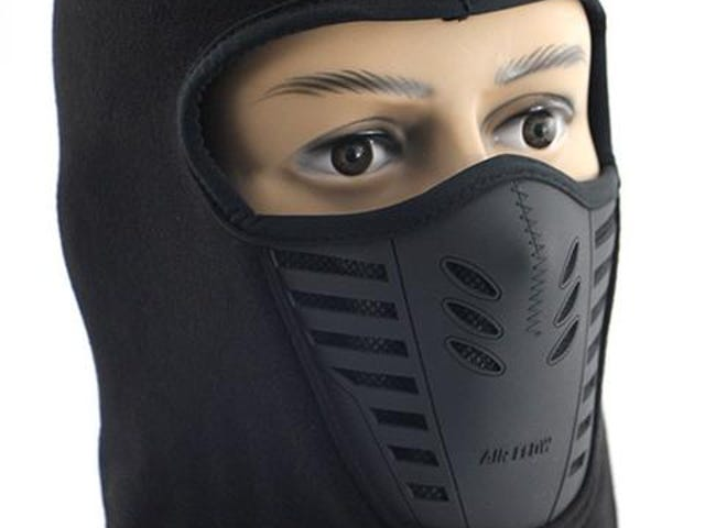 Fleece Face Mask Thermal Fleece Balaclava Hood