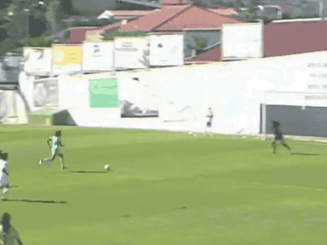 Portuguese Soccer Teen Absolutely Cooks A Keeper With Filthy Spin Move