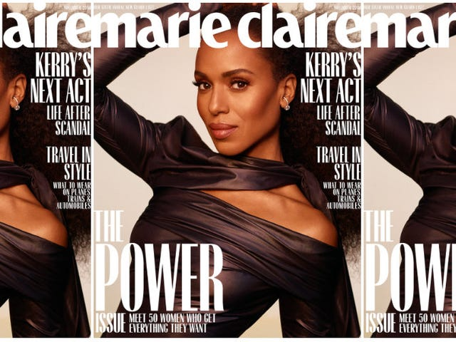 Still Powerful, Post-Scandal: Kerry Washington Covers Marie Claire's Power Issue