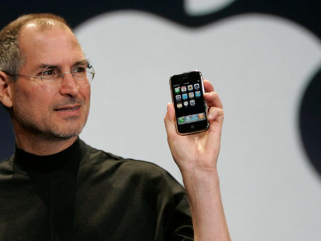 In a Rare Moment of Self-Doubt, Steve Jobs Wanted a Back Button on the iPhone