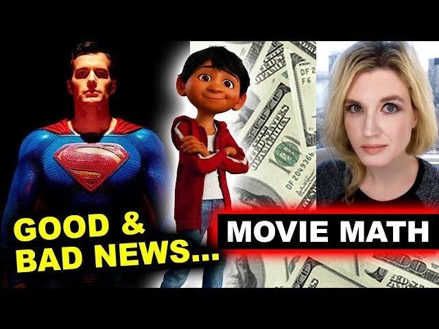 Liga da Justiça Matemática de Hollywood?  Metade De Um Bilhão De Dólares De Lucro Em 50 A 100 Milhões De Perda?