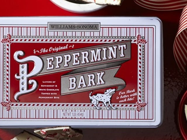 Stock Up On Excess Williams Sonoma Peppermint Bark For Just $8 Per Pound