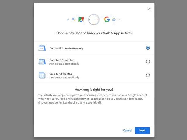 Google Mulai Meluncurkan Opsi ke Web & Aplikasi Hapus Otomatis, Riwayat Lokasi Setiap Beberapa Bulan