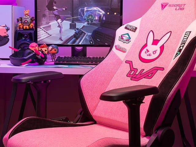 守望先锋D.Va游戏椅让我希望我仍然坐在游戏椅上