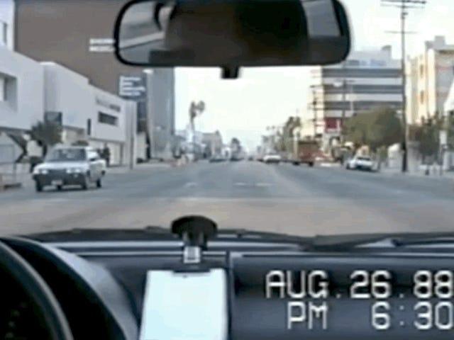 นี่คือสิ่งที่การเดินทางปกติจากลอสแองเจลิสเป็นเหมือนในปี 1988