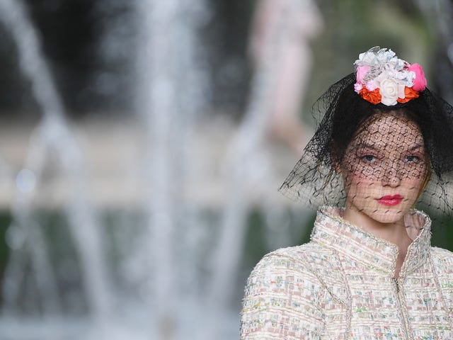 Karl's Back on His Bullshit at Chanel Couture