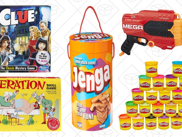 Relive Your Childhood With This One-Day Hasbro Sale