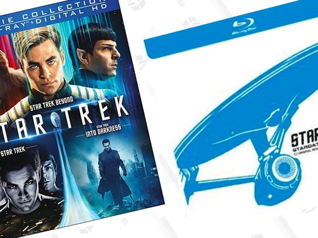 Live Long and Save On These Two Star Trek Blu-ray Collections