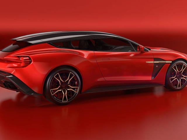 Did we talk about the Aston Martin Vanquish Shooting Brake?