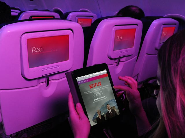 Netflix's Plan to Improve In-Flight Streaming Might Get You Free Wi-Fi