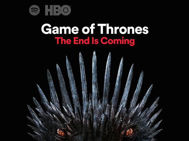 El Final de Game of Thrones spillene i Spotify, og er laget av crew