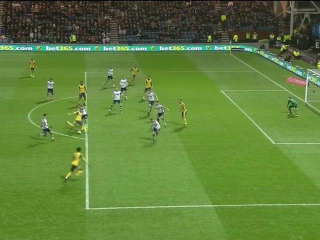 Aaron Ramsey Golazo ดึง Arsenal Even