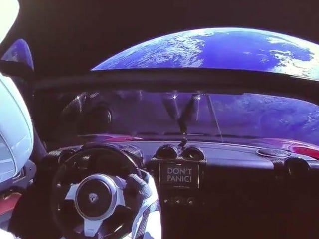 Højen er en af de bedste i Tesla Roadster Elon Musk er en af de bedste i Tierra