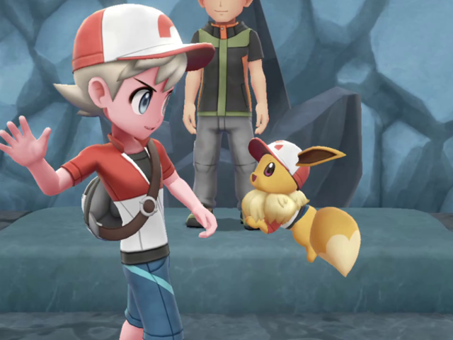 The co-op mechanics in Pokémon Let's go are...actually really fun?