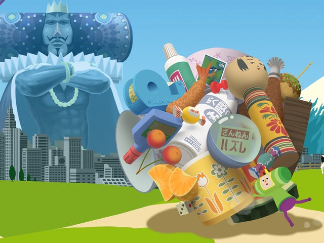 Katamari Damacy's Creator Had To Move Mountains To Get His Game Made
