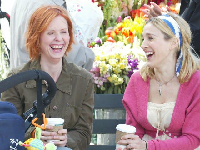 Carrie and Miranda Are Still Friends Despite Sex and the City 3DRAMA!!!