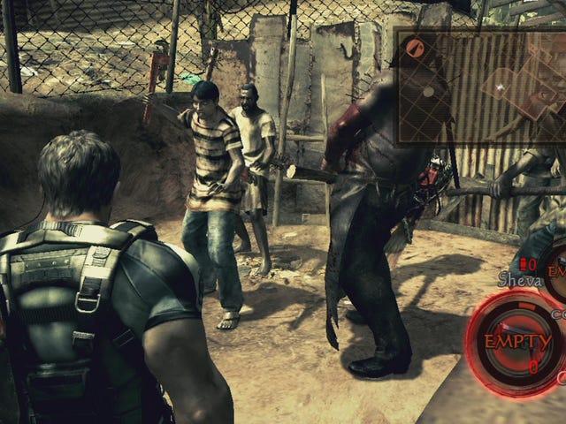 R <i>esident Evil 5</i> maintenant jouable sur le bouclier de Nvidia