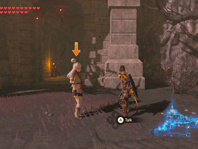 <i>Zelda</i> Player bygger löjligt Metal Block Contraption för att få NPC till Hyrule Castle