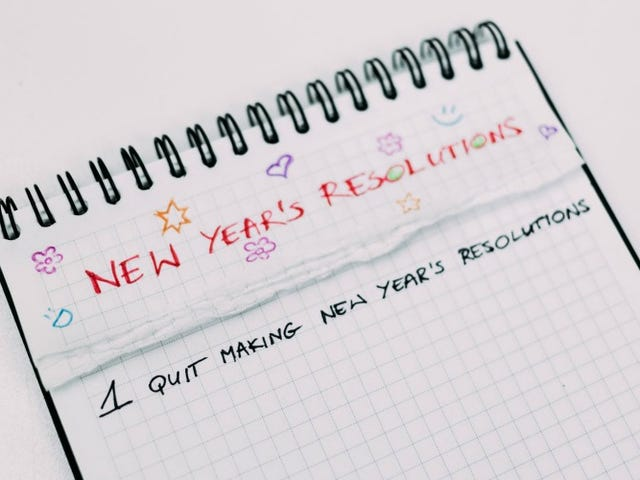 What to Do If You've Already Failed at Your New Year's Resolution