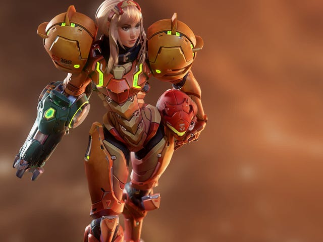 A Slightly Different Take On Metroid's Samus Aran