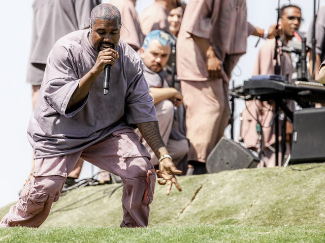 L'évangile selon vous: Kanye West veut prendre son service du dimanche à l'église - pour de vrai