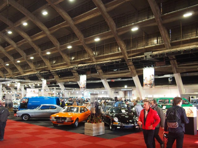 All The Cars: Interclassics Brussels