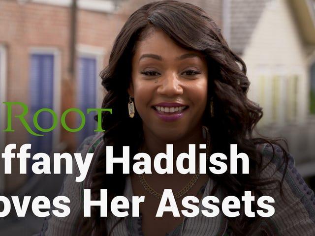 Assista: <i>Girls Trip</i> cena Stealer Tiffany Haddish ama seu espólio, pele e lábios
