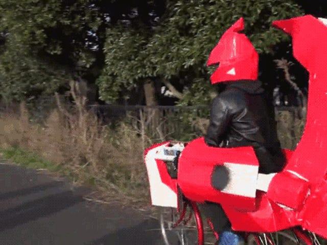 Підліток смутило <i>Yu-Gi-Oh!</i>  Велосипед