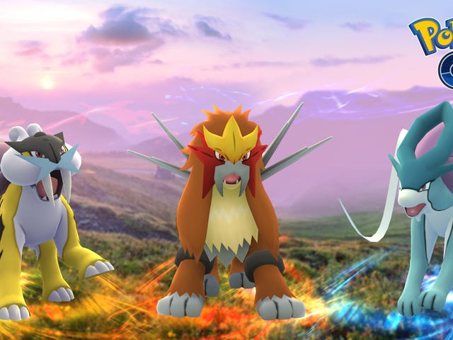 Pokémon Go's Next Legendaries, Raikou, Entei, and Suicune, Start Appearing Today