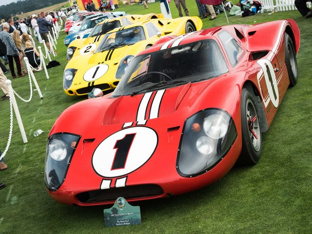 The Pebble Beach Concours Is Not An Event For Cars