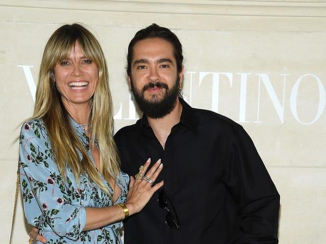 Tillykke til Heidi Klum, der uventet er gift