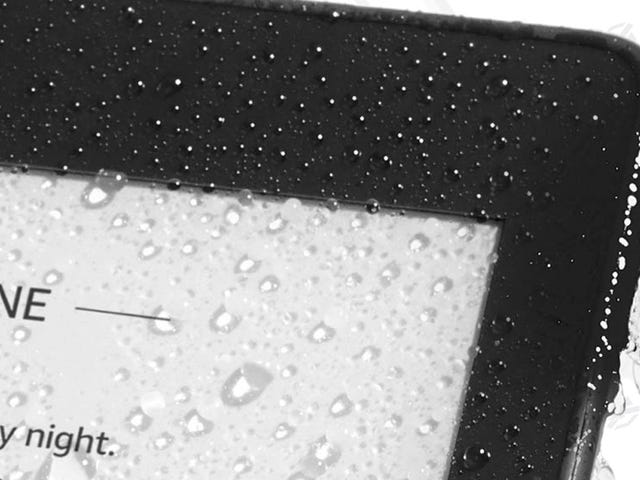 The Kindle Paperwhite Is Finally Waterproof, and On Sale For the First Time Ever