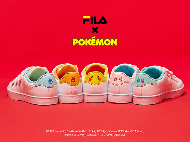 Fila'sPokémonSneakers Look Tasteful