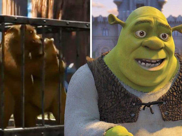 Hay una truculenta historia que te perdiste en la primera película de <i>Shrek</i> : el asesinato de mamá oso