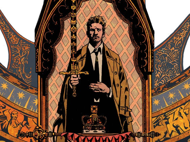 John Constantine hates his hipster replacement in this Hellblazer exclusive