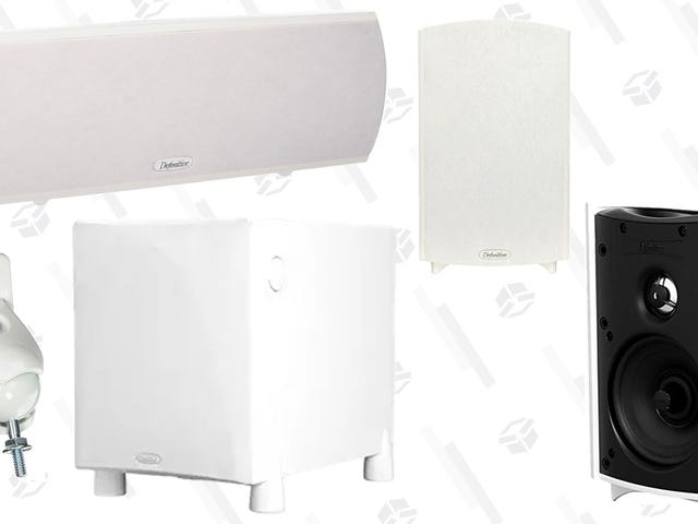 Score Big Savings On Definitive Technology Speakers, Today Only