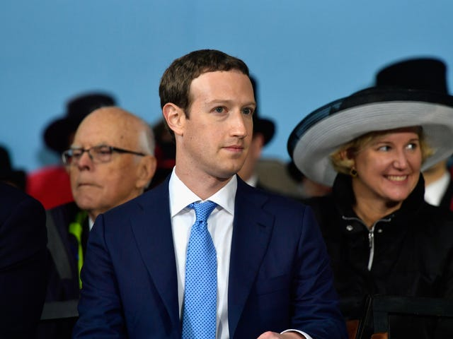 Government Confirms That It's Coming After Facebook