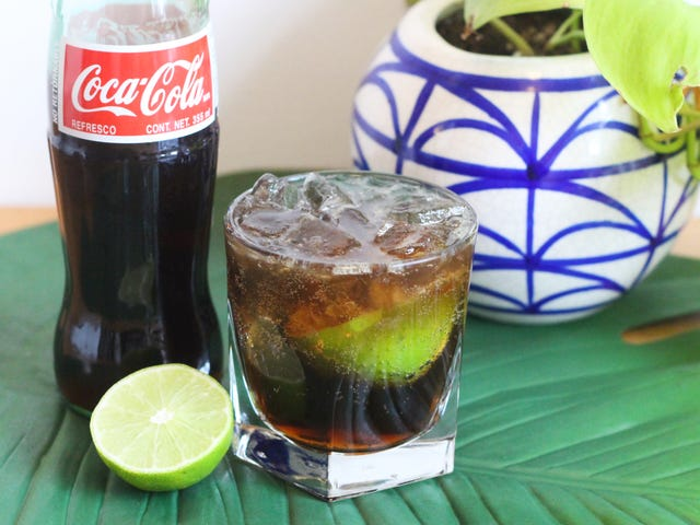 This Refined Cuba Libre Is Way Better Than the Rum & Coke of Your College Days