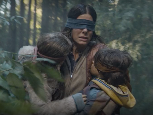 Netflix's Bird Box Is Really About How White People Don't Want to See Racism