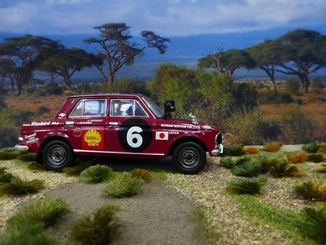 Forty 3rd: THE GRUELING SAFARI RALLY PART 1