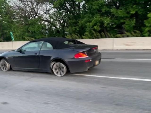 Philadelphia Driver legt auf der Interstate ohne Reifen mehrere Kilometer zurück