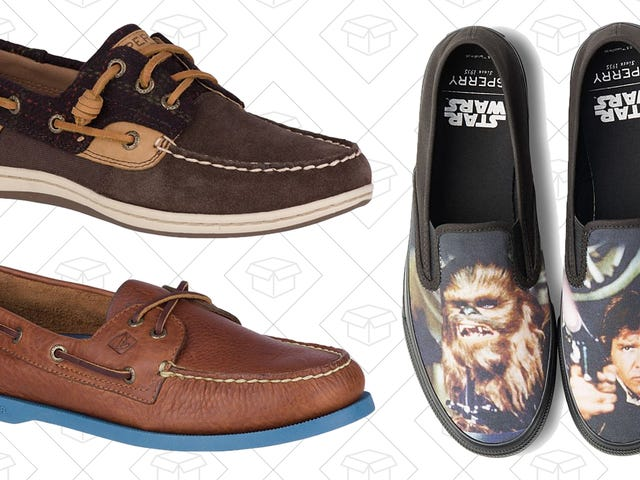 Double Up On Some New Sperry's With This Pair of Deals