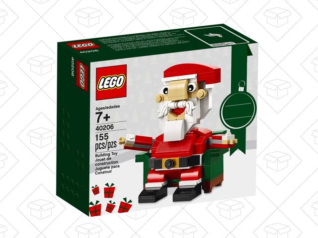 Pick Up This $8 LEGO Santa For The Kiddos