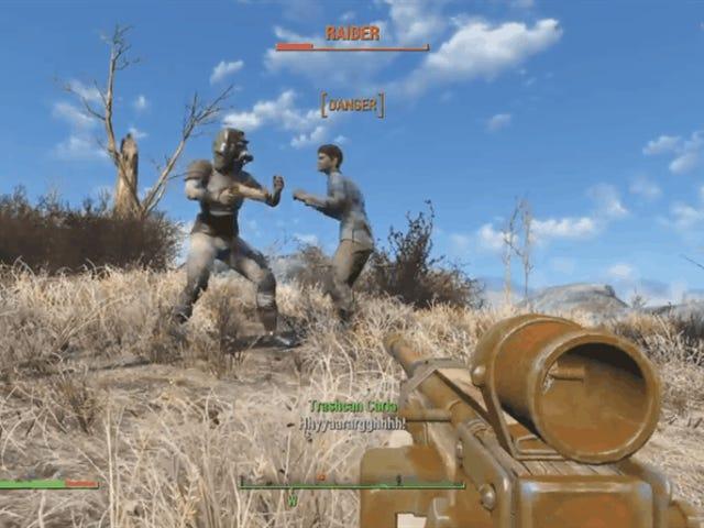 Fallout 4's Trashcan Carla är i grunden Ronda Rousey